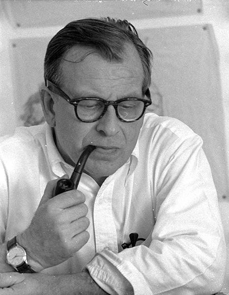 Imagén del arquitecto Aero Saarinen