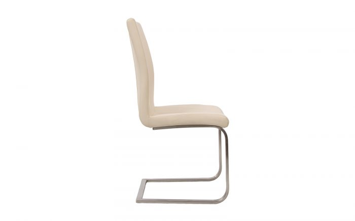 silla de comedor blanca