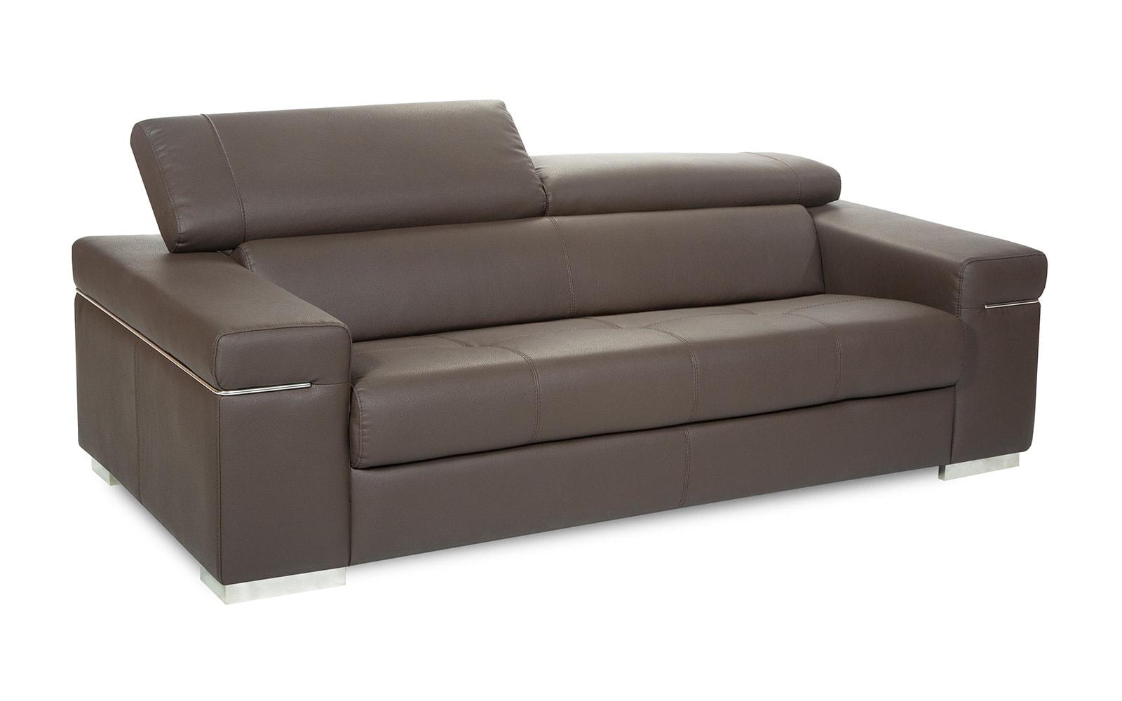 sofá chocolate