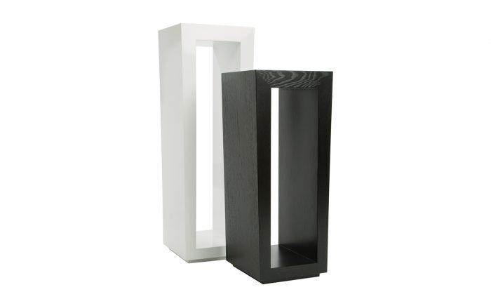 Mesa auxiliar pedestal