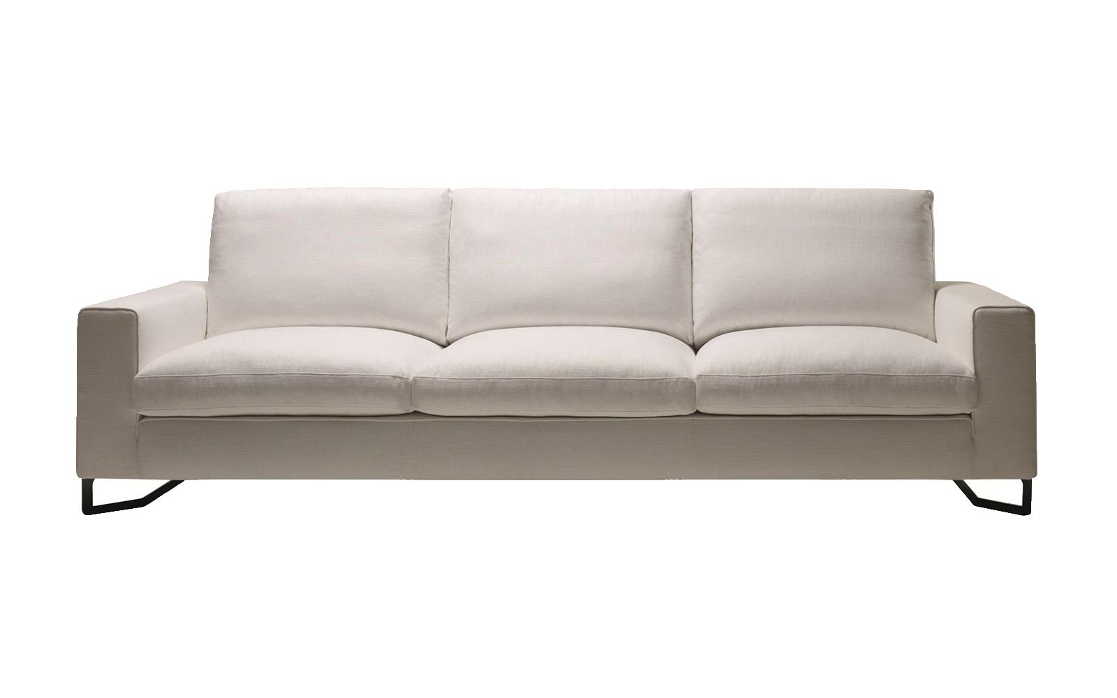 Sofá bika blanco