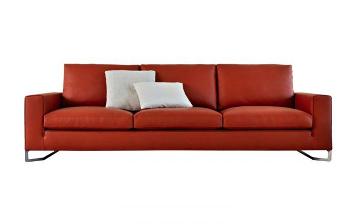 sofá bika rojo