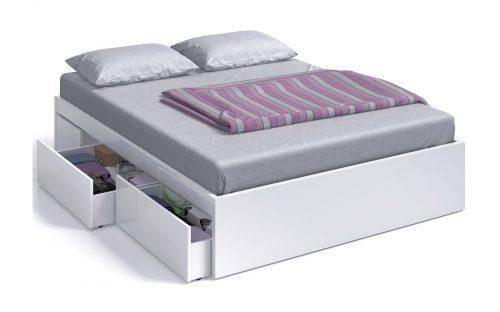 base cama con cajones