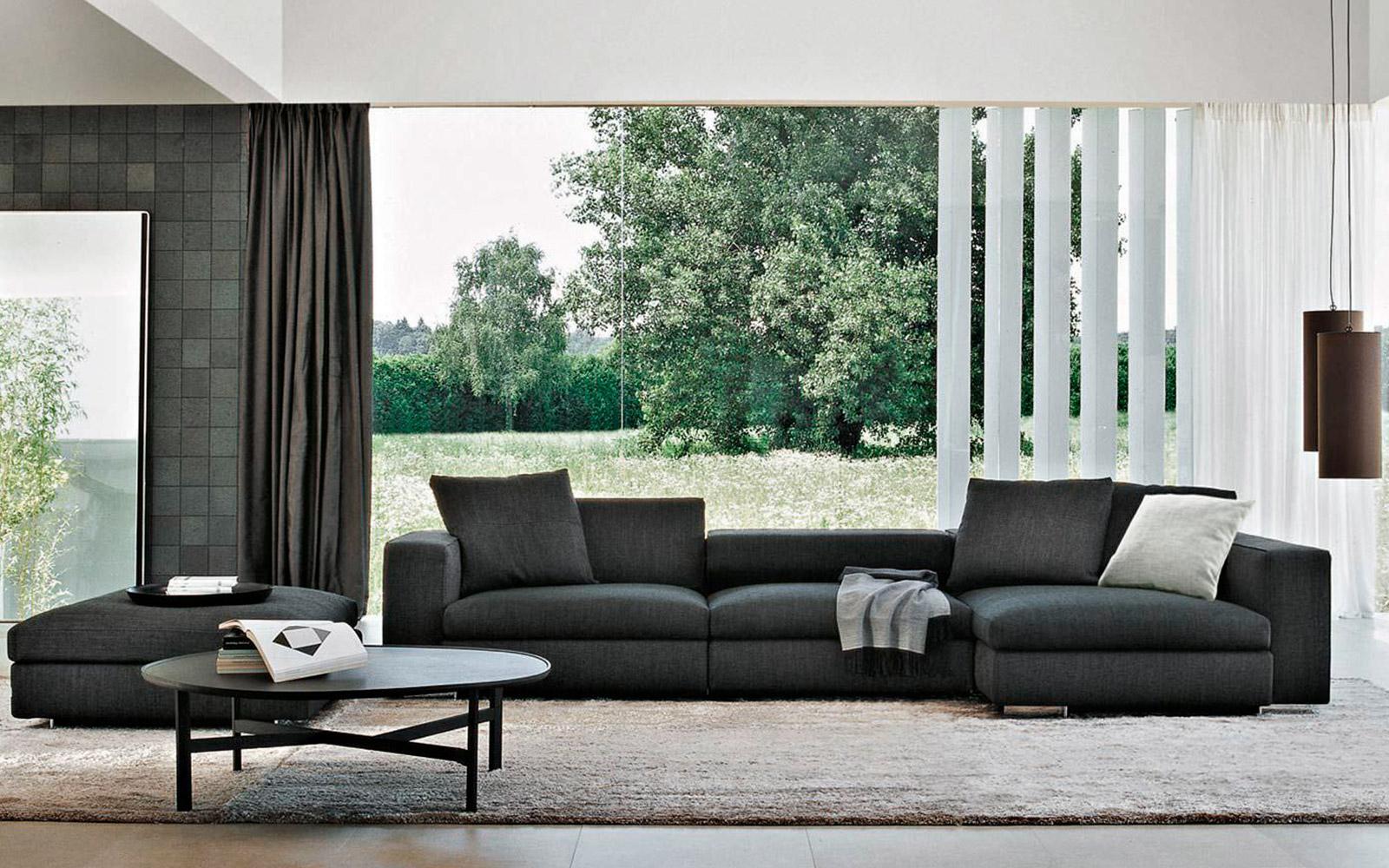sofa en tela